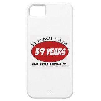 cool conceptions d'anniversaire de 39 années coques iPhone 5 Case-Mate