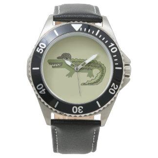Cool de crocodile montre