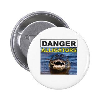 cool de signe d'alligator de danger pin's