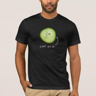 cool d'obscurité comme T-shirt de concombre