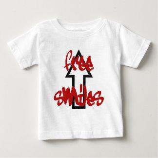 """cool """"free smiles"""" t-shirt"""
