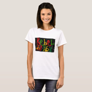 Cool jamaïcain de T-shirt, hippie, méditation T-shirt