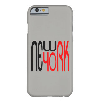 Cool moderne de Typestyle de New York, New York Coque iPhone 6 Barely There