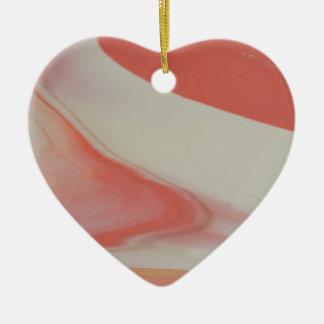 Cool Ornement Cœur En Céramique