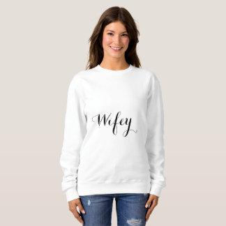 Cool Stylish2 à la mode élégant noir et blanc de Sweatshirt