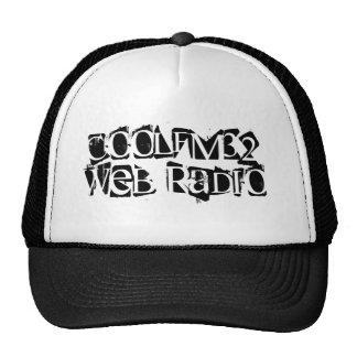 COOLFM32WEB RADIO CASQUETTES DE CAMIONNEUR