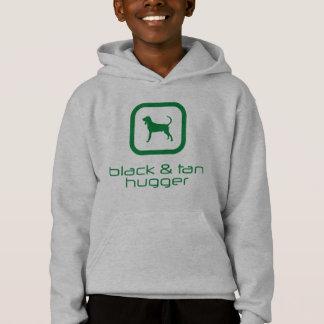 Coonhound noir et bronzage