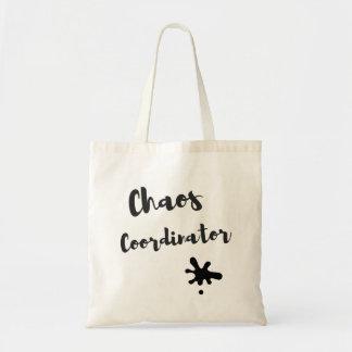Coordonnateur de chaos sac en toile