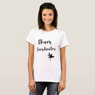Coordonnateur de chaos t-shirt