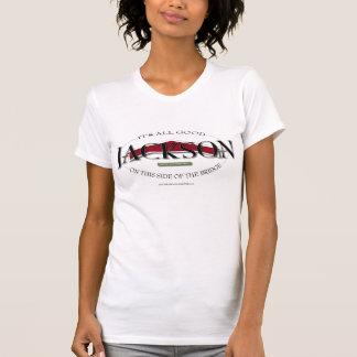 Coordonnées 2007 ovales du T-shirt W de Jackson