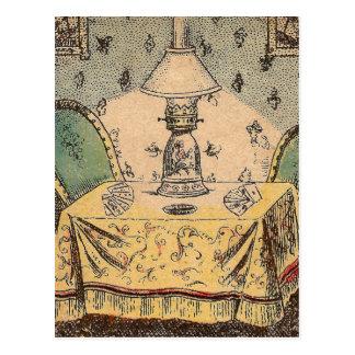 Copa de Rubin I/vase I à Rubin´s Carte Postale