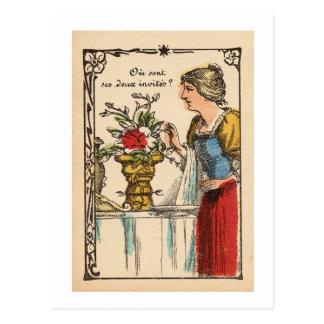 Copa de Rubin II/vase II à Rubin´s Carte Postale