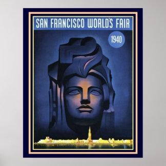 Copie -16 x 20 de l'Exposition universelle de San Poster