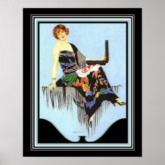 Copie 16x20 de mode d'art déco de Coles Phillips