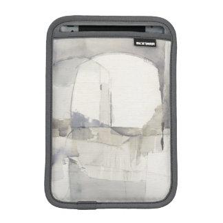 Copie abstraite de gris de l'improvisation I Housses Pour iPad Mini