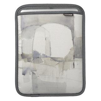 Copie abstraite de gris de l'improvisation I Poches Pour iPad