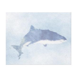 Copie abstraite de toile de requin de tigre de