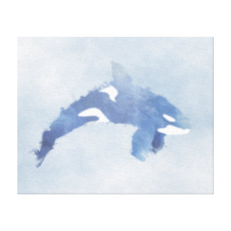"Copie abstraite d'orque de bleu - toile (20"" x16"")"