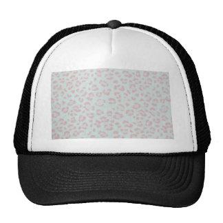 copie animale de jungle de guépard de roses pâles casquettes de camionneur