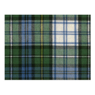 Copie antique de tartan de robe de Campbell de Cartes Postales