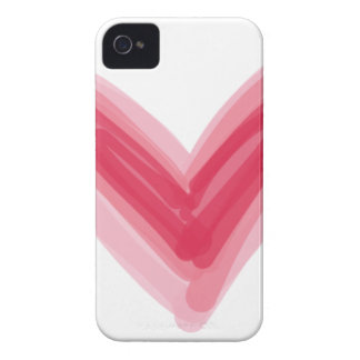 Copie assez rose de coeur, bel amour Hea de Coques Case-Mate iPhone 4