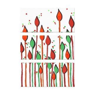 copie colorée de toile - rétro toiles tendues