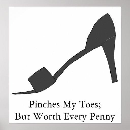 Copie conservatrice d'amant de chaussure affiches