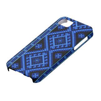 copie croisée ukrainienne de point de cas de étui iPhone 5