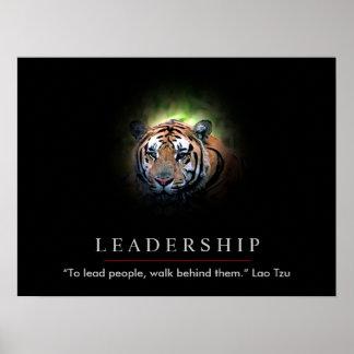 Copie d affiche de yeux de tigre de direction