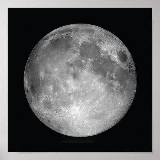 Copie d'affiche de pleine lune