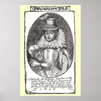 Copie d'affiche de Pocahontas Affiche