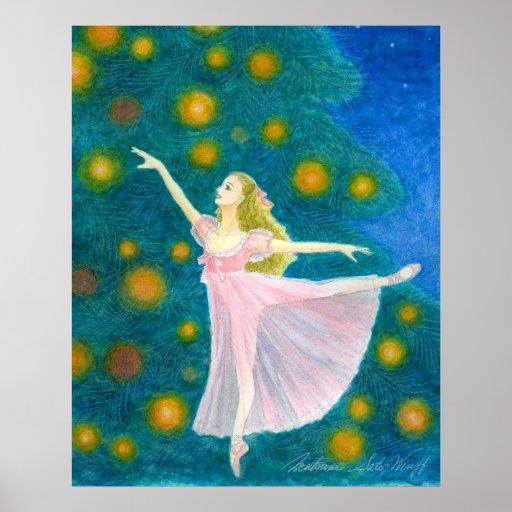 Copie d'art de ballet de Clara Posters