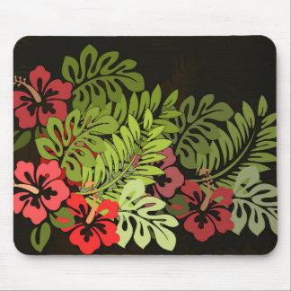 Copie d'art de fleur de surfer d'Hawaï Aloha Tapis De Souris