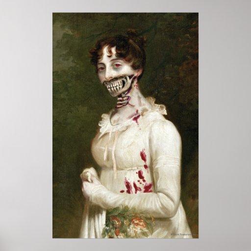 Copie d'art de toile de zombi de couverture de PPZ Posters