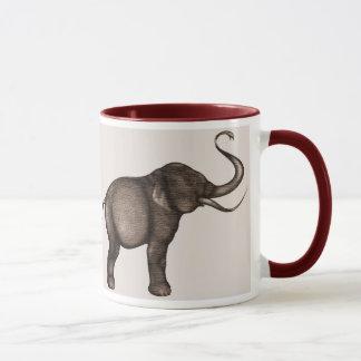 Copie d'art d'éléphant mug