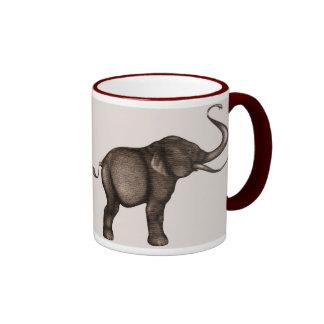 Copie d'art d'éléphant mug à café