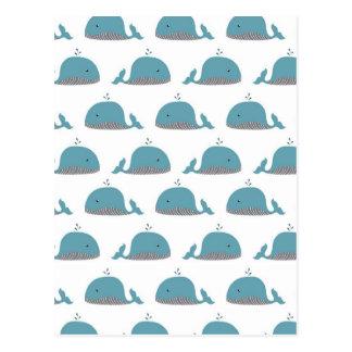 Copie de baleine carte postale