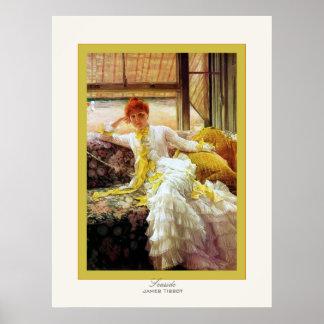 Copie de beaux-arts de ~ de James Tissot de ~ de Affiches
