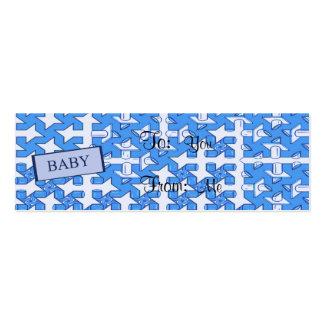 Copie de bébé carte de visite petit format
