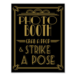 Copie de cabine de photo d'art déco des années 20