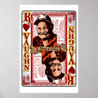 Copie de carte de Don Curtis de la Réunion de Poster