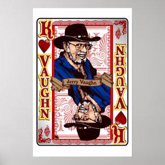 Copie de carte de Jerry Vaughn de la Réunion de Poster