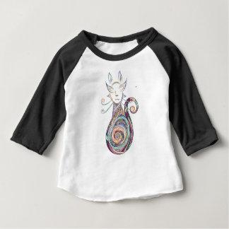 copie de chat de remous t-shirt pour bébé