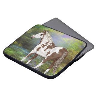 Copie de cheval de peinture de Tovero d'oseille Housse Pour Ordinateur Portable