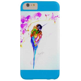 """Copie de colibri """"de perche violette"""" dessus coque iPhone 6 plus barely there"""
