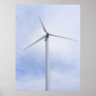 Copie de ~ de turbine de vent affiche