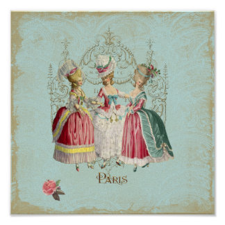 Copie de Française de dames Paris de Marie Posters