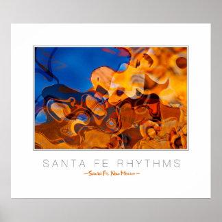 Copie de galerie de rythmes de Santa Fe Posters