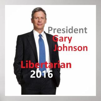Copie de Gary JOHNSON 2016 Affiches