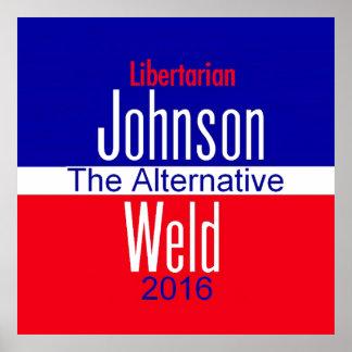 Copie de Gary JOHNSON 2016 Posters
